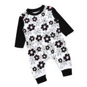 EKIMI Infant Baby Girl Jumpsuit Romper Outfits Clothes