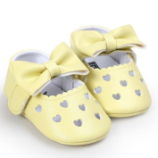 TRENDINAO Baby Shoes Girls Hollow Out Bowknot Sneaker Anti-slip Soft Shoes