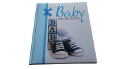 FaithView Creations Baby Record Book Boy, 0-7 Years, 60 Pages