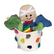 Organic Baby Gift Basket - Humpty Dumpty Nursery Rhyme Theme Gift