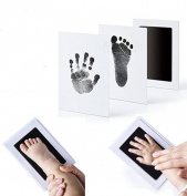 Newborn Hand Footprint Ink Pad Makers Handprint Non-Toxic Clean-Touch Pearhead Inkless