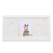 Babyprints Newborn Baby Handprint and Footprint Photo Frame Kit