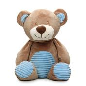 50cm Bear Plush Rattle (blue)