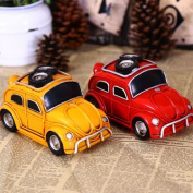 Mini Car Beatles Model Toys Piggy Bank Saving Cash Coin Money Box Savings Gift Coins Novelty Save Cans Children