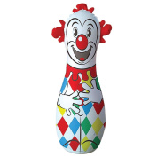 Classic Clown Bop Bag Childs Punching Toy - Great Exercise For Ages 5 And Up