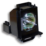 Amazing Lamps SUPERIOR SERIES - New and Improved Technology - 1 Year Warranty - 915B403001 Replacement Lamp with Housing for Mitsubishi TV's - Crystal Clear, Brighter Picture - Superior Quality