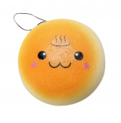 Stress Toy,IEason New 10cm Squishy Hamburger Toy Lovely Bread Bun Cellphone Bag Strap Pendant Charms