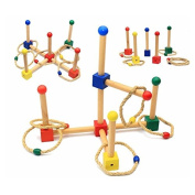 Montessori Materials Throwing Circle Increase Hand and Eye Coordination Early Childhood Educational Learning