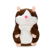 Voberry Adorable Interesting Speak Talking Record Hamster Mouse Plush Kids Toys
