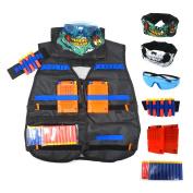 Aweoods Elite Tactical Vest Jacket Kit for Nerf N-strike Elite Series