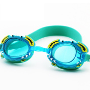 Kids Swim Goggles,Digital Art Child Toddler Swimming Goggles for Kid Boys Girls and Early Teens From Age 1 to 10 Years Old,Anti Fog,UV Protection,Waterproof