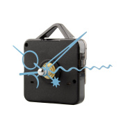 Kicode Clock Movement Mechanism DIY Repair Parts Movement Kit With Blue hands For Replacement