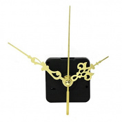 Single Mom Gold Hands DIY Quartz Wall Clock Movement Mechanism Replacement Parts
