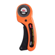 Moore Deluxe Handle Rotary Cutter ,45mm Ergonomic Handle Works With All Major Brands