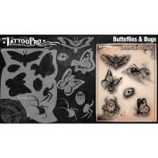 Tattoo Pro Stencils Series 2 - Butterflies & Bugs