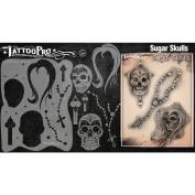 Tattoo Pro Stencils Series 2 - Sugar Skulls