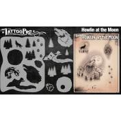 Tattoo Pro Stencils Series 3 - Howlin At The Moon