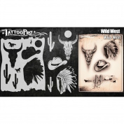 Tattoo Pro Stencils Series 4 - Wild West