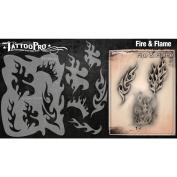 Tattoo Pro Stencils Series 2 - Fire & Flame