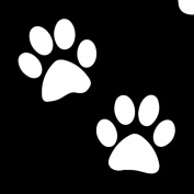 Glimmer Body Art Glimmer Tattoo Stencil - Emoji Paws
