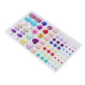 LALANG Self-adhesive Rhinestone Sticker Bling Craft Jewels Crystal Gem Stickers