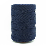NAVY BLUE 1mm 100% Nylon Twisted Cord Thread Macrame Beading Crochet Hand Crafts Artisan