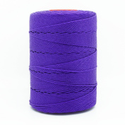 PURPLE 1mm 100% Nylon Twisted Cord Thread Macrame Beading Crochet Hand Crafts Artisan