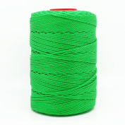 GREEN 1.5mm 100% Nylon Twisted Cord Thread Macrame Beading Crochet Hand Crafts Artisan
