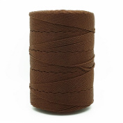 DARK BROWN 1.5mm 100% Nylon Twisted Cord Thread Macrame Beading Crochet Hand Crafts Artisan