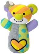 Gund Baby Britto Bebe From Enesco Rattle, Bear, 15cm