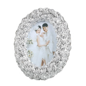 SESO UK- American Simple Design Picture Photo frame Classic wedding life Oval Resin decorative frames, Apply photo