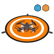 """iTrunk 30""""(75cm) RC Drone and Quadcopter Landing Pad Waterproof Portable Helicopter Launch Pad for DJI Mavic Pro, DJI Spark, DJI Phantom 4/4 Pro and More"""