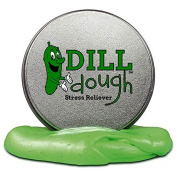 Dill Dough Stress Reliever Putty – Stress Relief Toys for Girlfriends Funny Pickle Gifts Stocking Stuffers for Adults Stocking Stuffers for Women Dill Scented Stress Putty Weird Best Friend Gifts
