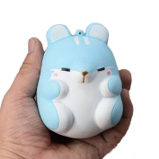 Slow Rising Squishies Jumbo, Hamster Scented Squeeze Easter Stress Relief Toy