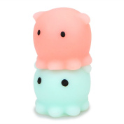 Octopus Mochi Squeeze Stretchy Kawaii Decompress Squishy With Box
