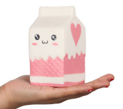 Anboor 12cm Jumbo Slow Rising Kawaii Squishies Milk Bag Scented Squishies Charms Decompress Toy 1 Pcs Colour Random