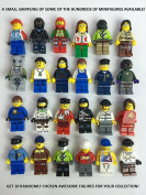 Lego Lot Of 10 Minifigures Random Lot Star Wars, Ninjago & More