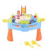 Fish 'n Splash Water Pond Swirl With Music Table Fishing Game for Toddler Kids