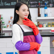 Household Waterproof Washing Up Long Sleeve Kitchen Dishes Cleaning Glove