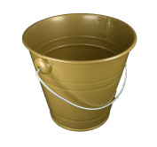 1 Metal Pail Buckets with Handle Party Favour 11cm Tall