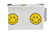 Smiley Cotton Pouch (S)