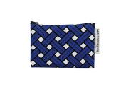 Basket Blue Cotton Pouch (M)