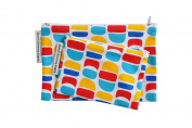 Colourful Moon Cotton Pouch