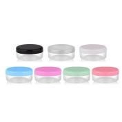 Gracefulvara 10Pcs 10 Gramme Cosmetic Empty Jar Pot Eyeshadow Face Cream Lip Balm Container Box Random Colour