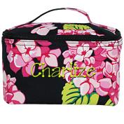 Carolina Hydrangea Large Cosmetic Bag Makeup Case Customise on Order