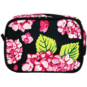 Carolina Hydrangea 2 Compartment Makeup Cosmetic Bag Toiletry Travel Kit Organiser