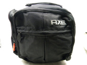 Axe Dopp Ess Toiletry Travel Bag Black Nylon Canvas With Zippers