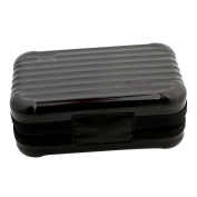 HS Women Girls Mini Travel Cosmetic Case Makeup Box Case Waterproof Toiletry Bag 1pc
