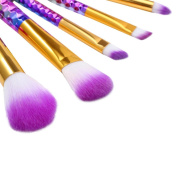 Sunsee 6PCS Pro Soft Contour Face Powder Foundation Blush Brush Makeup Cosmetic Tool
