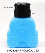 Carriage Shaped Nail Pump Dispenser Bottle